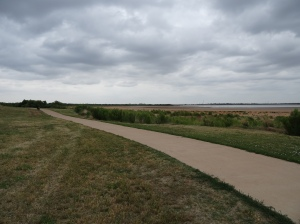 Bike Path Near Lake Wichita
