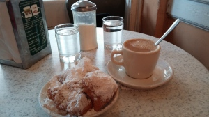 Coffee and Beignets @ Cafe Du Monde