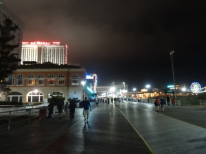 Atlantic City Boardwalk @ Night