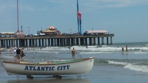 Life Guard's Boat @ Atlantic City Beach