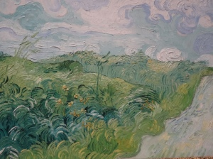 New Acquisition -  Vincent van Gogh, Green Wheat Fields, Auvers, 1890