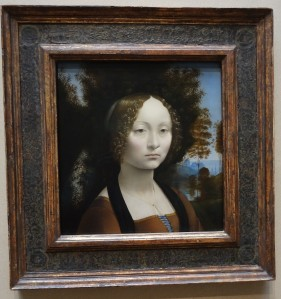 Only da Vinci in the U.S. - Leonardo da Vinci's Ginevra de' Benci 1474-1478