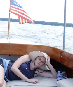 Sleepy Lindsey on the Chesapeake