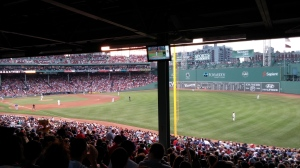 Fenway Park - Boston Red Sox lost to the Chicago Cubs 2-1