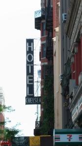 Famous artist haven Hotel Chelsea