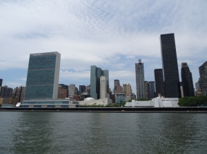 View of midtown & United Nations Building from The Manhattan