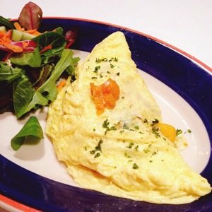 Veggie Omelet from Cafe Luna (Swiped from their website because we keep forgetting to take pictures before we eat!)