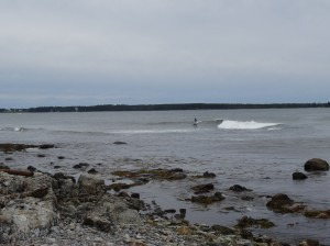 Surfer at Seawall Picnic Area