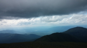 On Top of Mt Washington