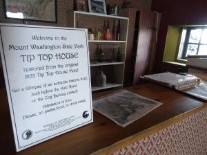 Tip Top House, Mt Washington, NH
