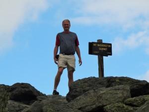 Trey @ the Summit, Mt. Washington, NH