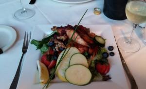 Salmon Salad, Wildcat Inn and Tavern