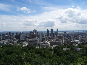 The beauty of Montreal is best appreciated atop Mount Royal