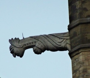 Grotesque on Central Parliament Building