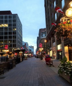 Sparks Street in Downtown Ottawa