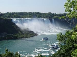 American Falls taken from Niagara Falls, Ontario