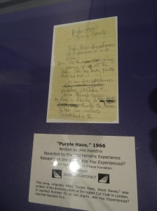Hendrix Purple Haze Lyrics