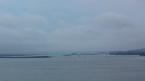 Bridge Across the Missouri between Chamberlain & Oacoma, SD