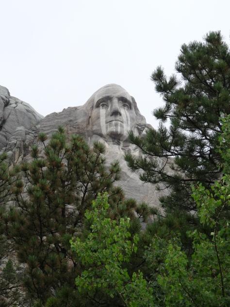 Mt Rushmore - Crying George