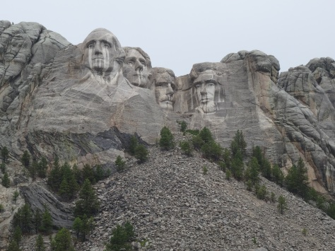Mt Rushmore - Crying Presidents