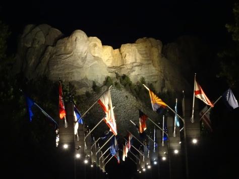 Rushmore at Night