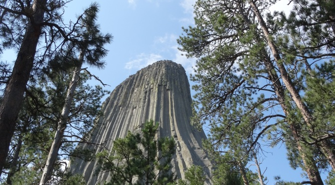 Devil's Tower and Little Bighorn Battlefield National Monuments ~ August 9, 2014