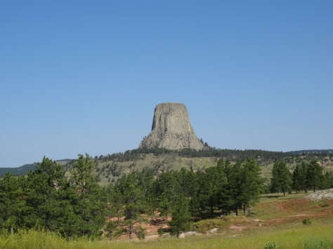 Devils Tower Horizon Shot