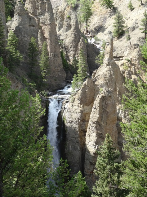Tower Fall, Yellowstone River