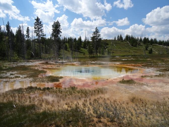 Yellowstone & Grand Teton National Parks, Wyoming ~ August 13-17, 2014