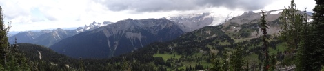 Mountain Panoramic from Sunrise