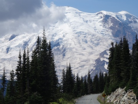 View of Rainier from Sunrise Road2