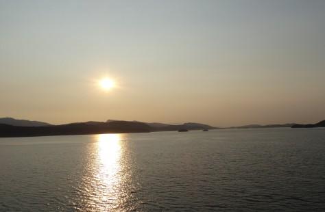 Cross the Strait of Georgia