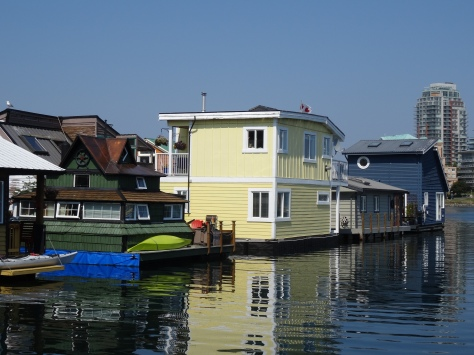 Float Houses, Fisherman's Wharf, Victoria