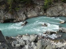 Glacier fed creek