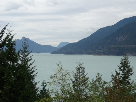 Howe Sound, Sea-to-Sky Highway