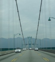 Lions Gate Bridge, Vancouver Harbour
