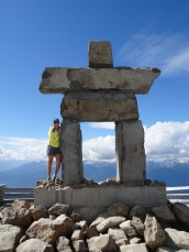 Mart with Inukshuk Man
