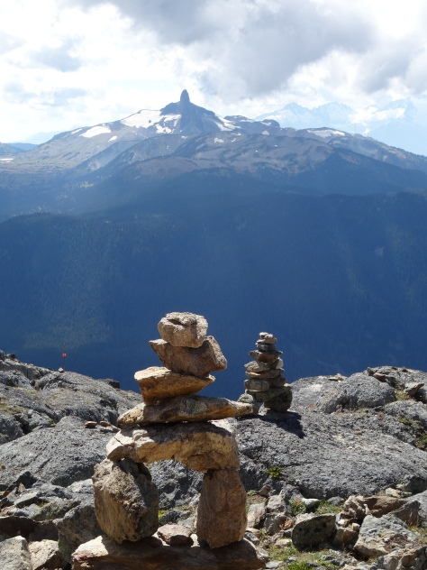 Mini Inukshuk, Whistler Peak