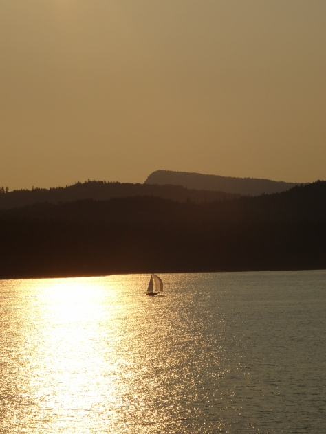 Sailboat, Strait of Georgia