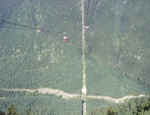 View of Peak2Peak Gondola2