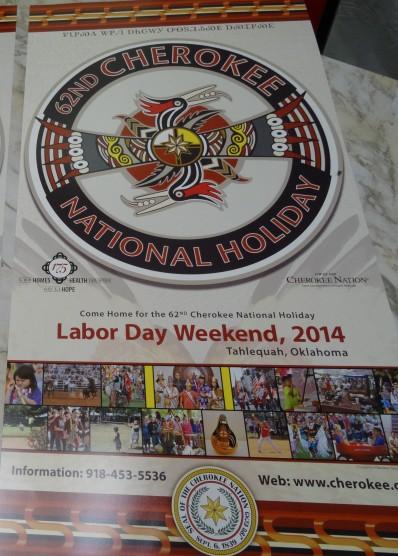 Cherokee Holiday Poster