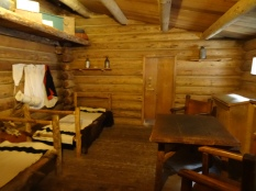 Fort Clatsop, Inside Cabin