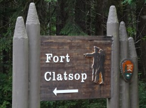 Fort Clatsop Sign