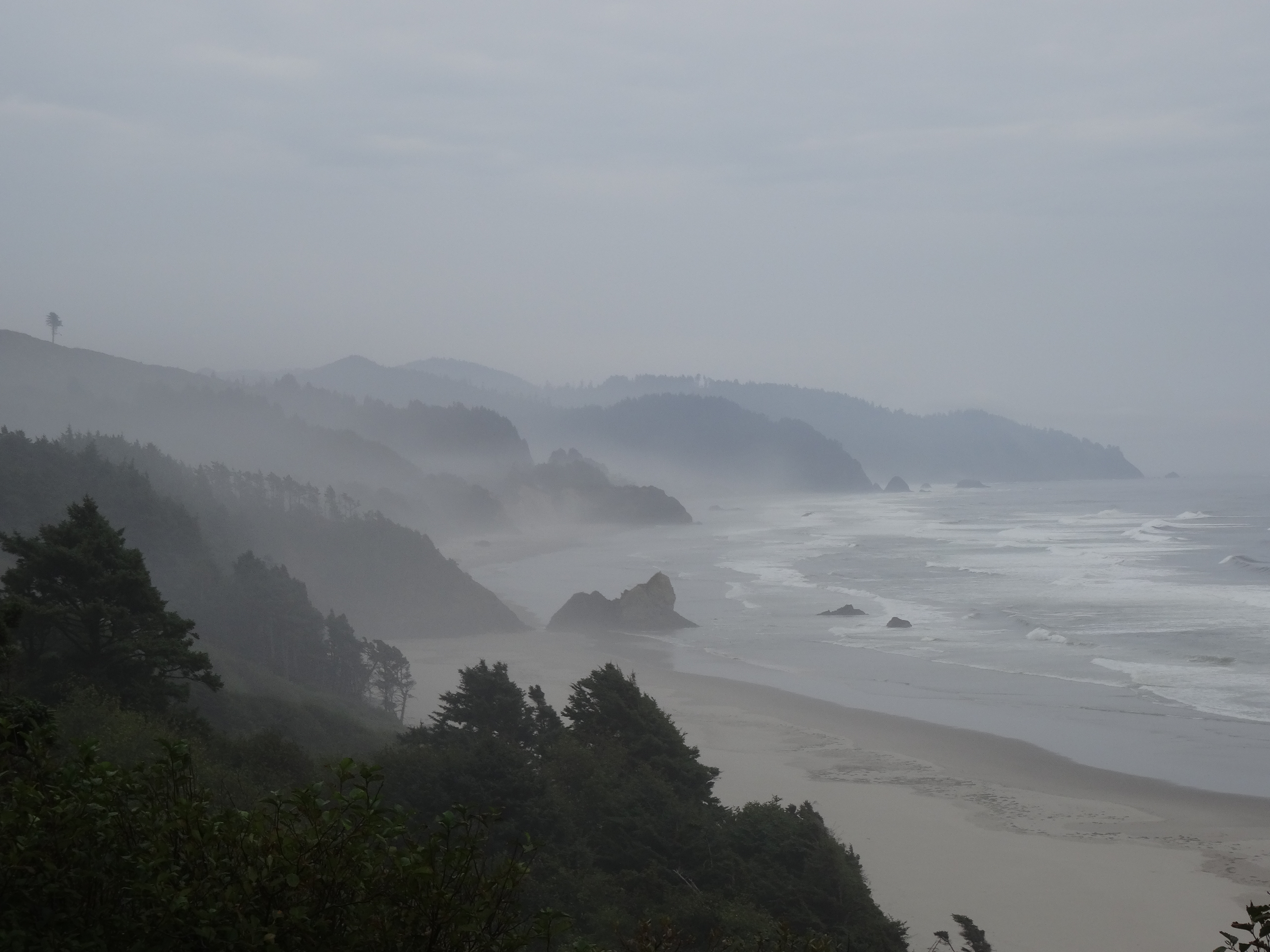 Oregon Coast - Drive to Lincoln City 5