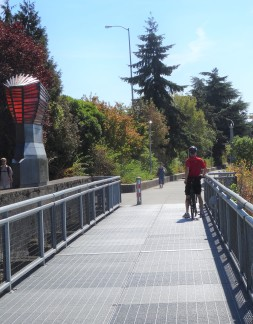Trey on the Sellwood Bridge Loop
