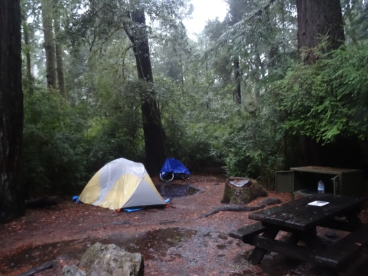 Rainy Campsite, JSRSP