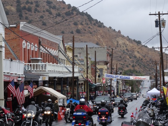 Virginia City's main street