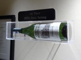 Winning 1973 Chateau Montelena Chardonnay