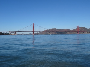 Heading to the Goldengate on the Privateer