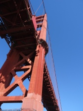 Heading Under the Golden Gate